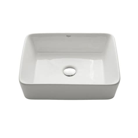 rectangle vessel sink home depot bathroom home depot undermount bathroom sink rectangular
