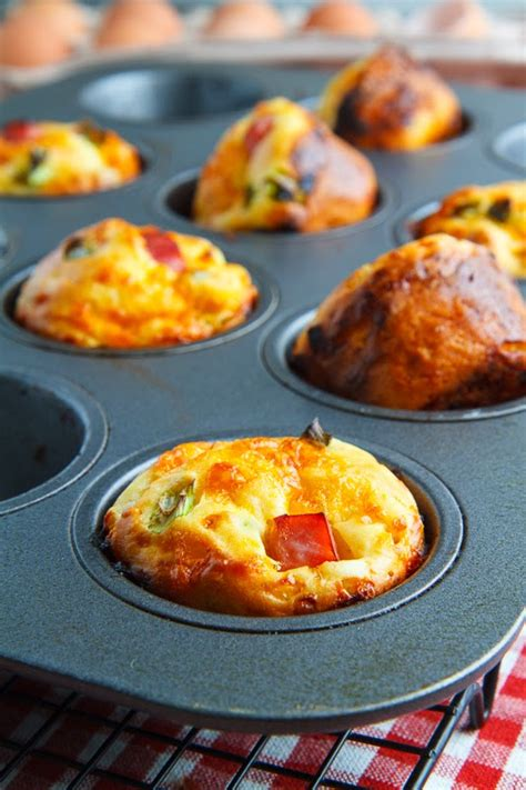 cottage cheese  egg muffins  ham  cheddar cheese