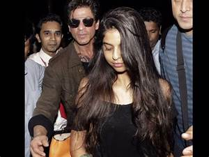 Spotted! Shahrukh Khan With Daughter Suhana And Son Aryan ...