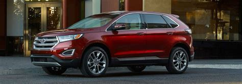 2018 Ford Edge Passenger And Cargo Space