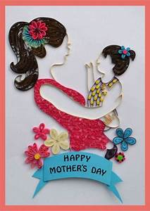 30 Quilled Mother's Day Craft Projects and Ideas - family ...