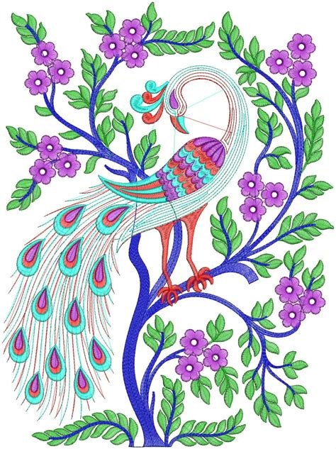 embroidery designs free free peacock embroidery embroidery designs