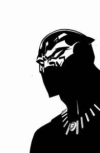 Black Panther clipart stencil - Pencil and in color black ...