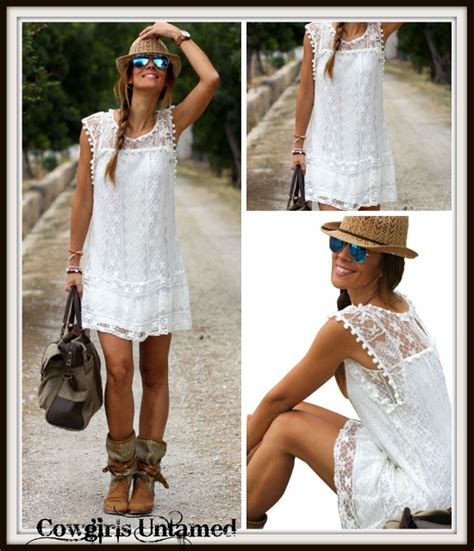 wild flower dress white crochet lace sleeveless mini dress