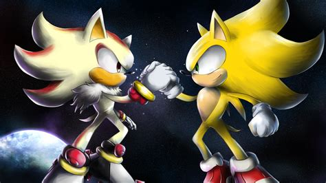 Sonic And Shadow By Nintendo-jr On Deviantart
