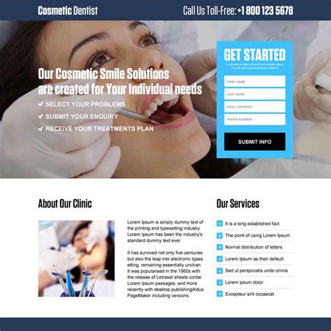 dental care  dental implants responsive landing pages