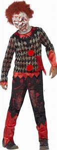 Verkleidung Für Kinder : furchterregende zombie clown verkleidung f r kinder ~ Frokenaadalensverden.com Haus und Dekorationen