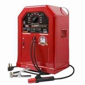 Lincoln Electric Arc Welder  Ac225s  110 Amp Machine