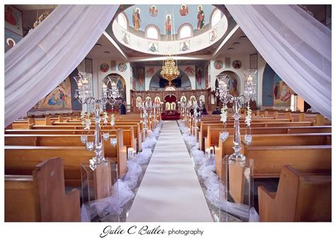 greek themed wedding decorating a church for your wedding