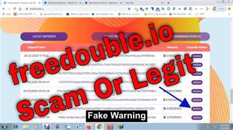 Top 10 most popular bitcoin and crypto investing sites. freedouble.io Scam Or Legit | Payment Proof | Bitcoin Doubler Site | Trusted Bitcoin Investment ...