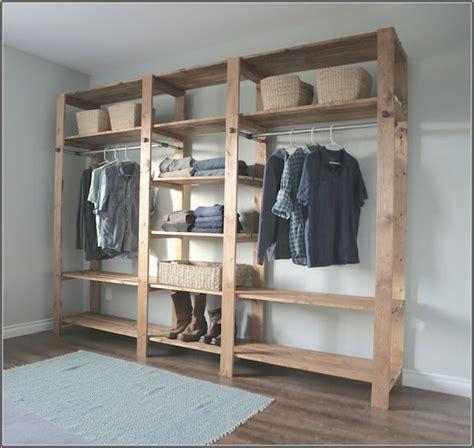 Wood Free Standing Closet by Organizing My Closet Cheap Home Improvement