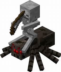 minecraft skeleton jockey | skeleton&spider | Pinterest ...