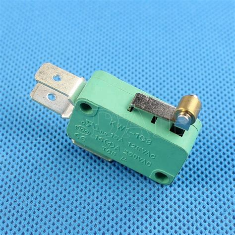 Roller Lever Micro Switch Kw1 103 6 Short Hinge 16a 250v