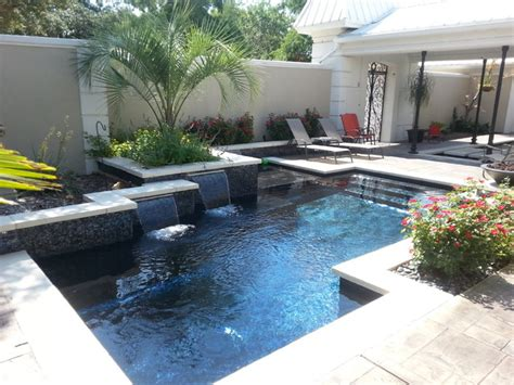 front yard pools front yard pool modern pool other metro by ocean quest pools by lew akins
