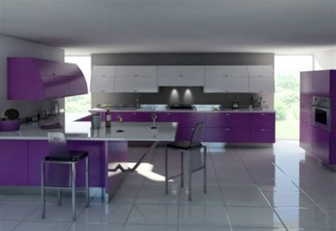 purple kitchens design ideas cocinas modernas en color violeta y p 250 rpura 4457