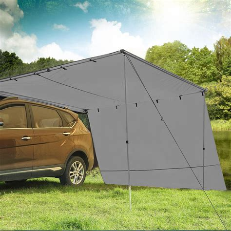 car side awning extension roof rack covers tents shades camping   ebay