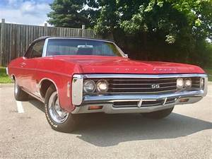 1969 Chevrolet Impala Ss 427 V8 Convertible Four Speed