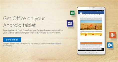 microsoft office for android microsoft releases office for android tablets