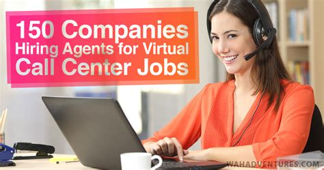 work from home call center a huge list of best virtual call center jobs from home