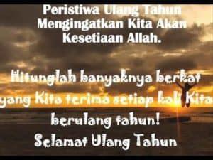 ucapan ulang   diri sendiri  doa  rasa syukur