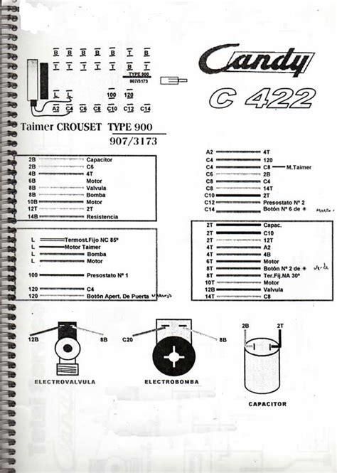 solucionado diagrama circuito el 233 ctrico lavarropas