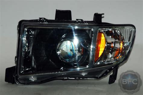 ridgeline honda headlights projector hid 2009 mini conversion d2s retrofit blackflamecustoms shroud