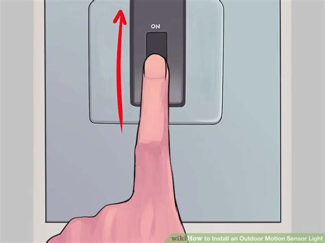 How To Install Motion Sensor Light by How To Install An Outdoor Motion Sensor Light With Pictures