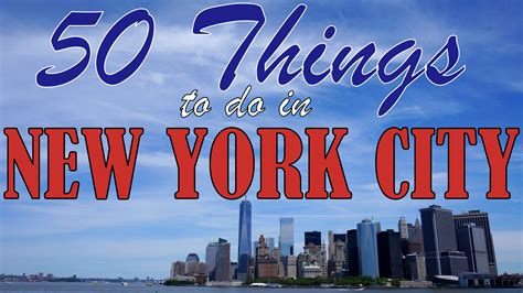ny tourism bureau 50 things to do in york city
