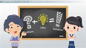 Logical  Mathematical Learning Style  Characteristics