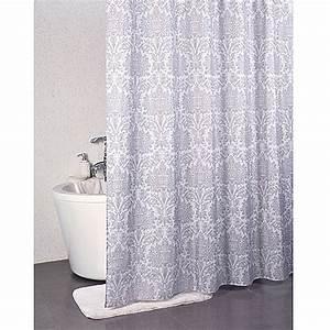 Teppich 240 X 240 : venus textil duschvorhang damask 240 x 200 cm 100 polyester bauhaus ~ Bigdaddyawards.com Haus und Dekorationen