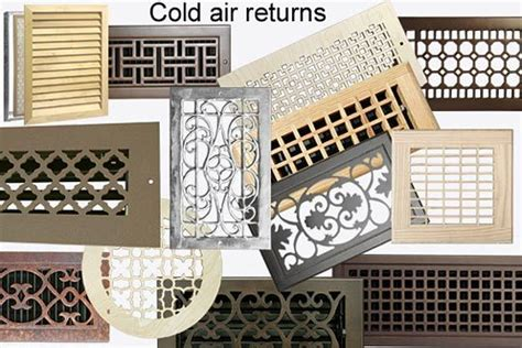 decorative return air vent cover best 25 return air vent ideas on