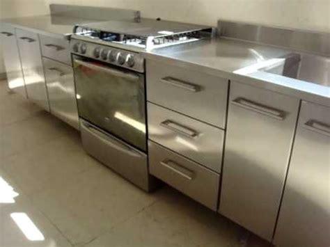 cocina de acero inoxidable youtube