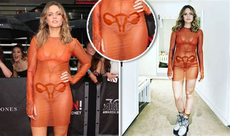 Tove Lo Stuns In Uterus Dress On The Arias Awards Red