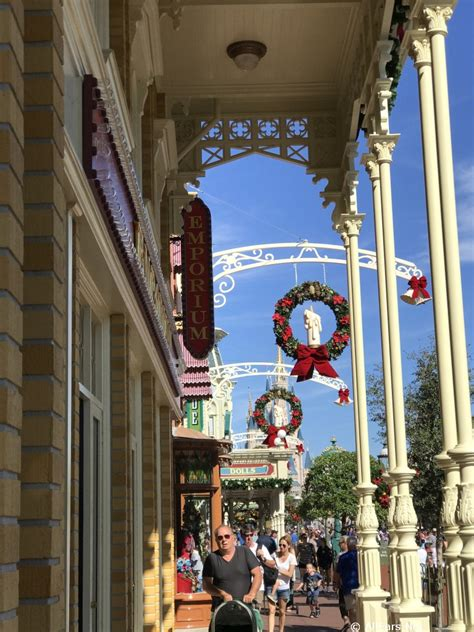 holiday decorations   magic kingdom  photo