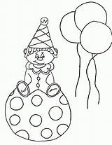 Coloring Clown Pages Printable Krusty Killer Drawing Craft Coloringme Getdrawings Bestcoloringpagesforkids Ball sketch template