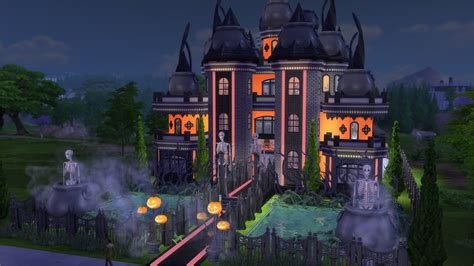 sims gallery spotlight spooky houses venues part spooky house sims building sims