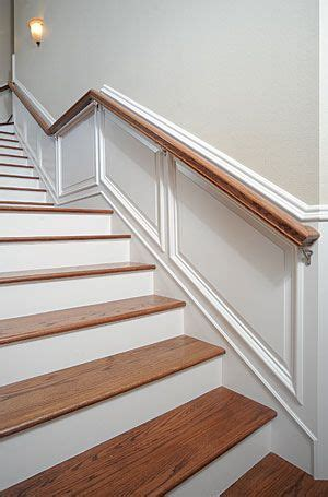 How To Hang Wainscoting Panels by Taking Wainscot Up Stairs Home Decor Ideas Wainscoting
