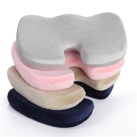 orthopedic seat cushion for chair memory foam chair seat pad buttock cushion coccyx