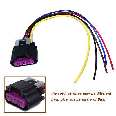 ls3 ls7 5 wire maf sensor wiring connector pigtail for gm
