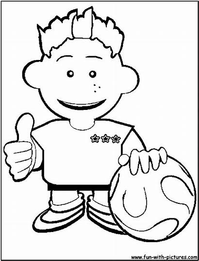 Coloring Dude Pages Perfect Soccer Template Fun