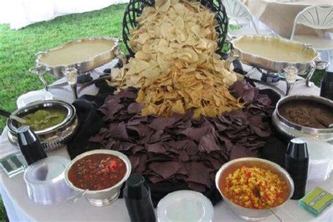 fun menu innovations   reception wedding