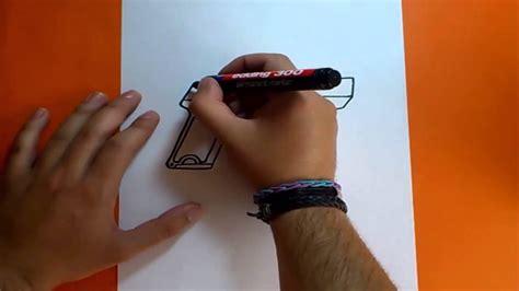 Máquinas automáticas, pistolas, rifles de francotirador, armas de juegos populares: Como dibujar una pistola paso a paso | How to draw a gun - YouTube