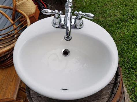 Kohler Sink Bathroom by Kohler Drop In Cast Iron Sink 2904 Bathroom Oval Bath