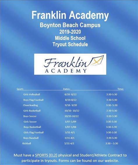 franklin academy boynton beachs athletics