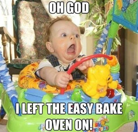 Funny Child Memes - i left the easy bake oven on giantgag