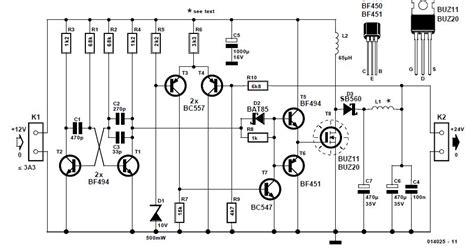 Converter Schematic Circuit Diagram
