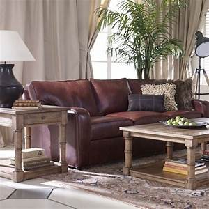 Ethan allen retreat sofa sectional in leather this exact for Retreat sectional sofa ethan allen