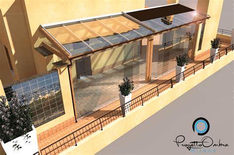progettazione verande progettazione veranda in legno terrazzo di un attico