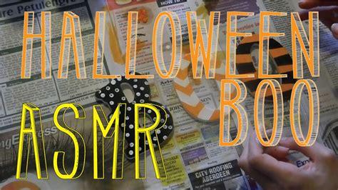 Asmr Halloween Painting  Wooden Boo  Whispering  Little Watermelon Youtube