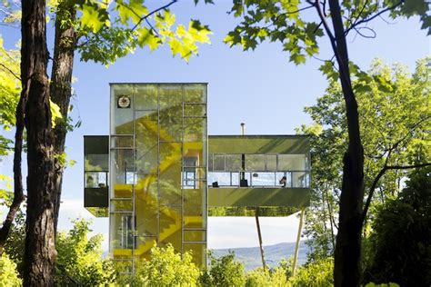 glass forest house an amazing glass house that peeks the forest wired Glass Forest House